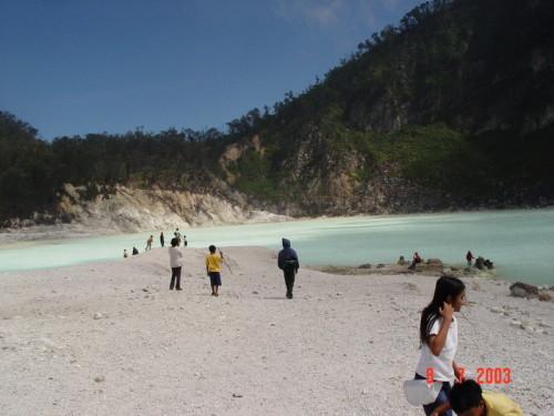 Wisata Bandung selatan Kawah Putih