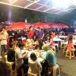 tempat wisata kuliner nasi kalong di jalan riau bandung