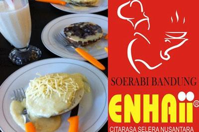 Tempat Wisata Kuliner Di Bandung Soerabi enhai