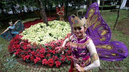 Taman Pustaka Bunga Di Bandung
