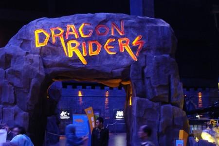 Wahana trans studio bandung dragon rider