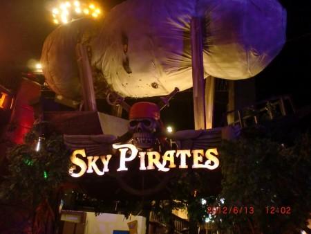 Wahana trans studio bandung sky pirate