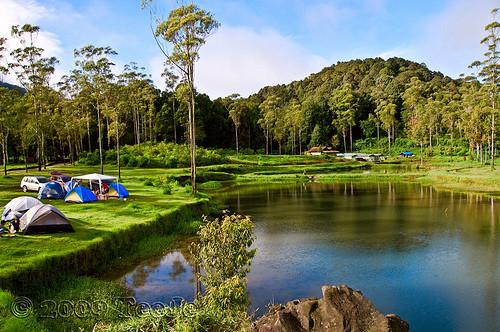 Ranca Upas Ciwidey Harga Tiket Masuk Camping Penginapan
