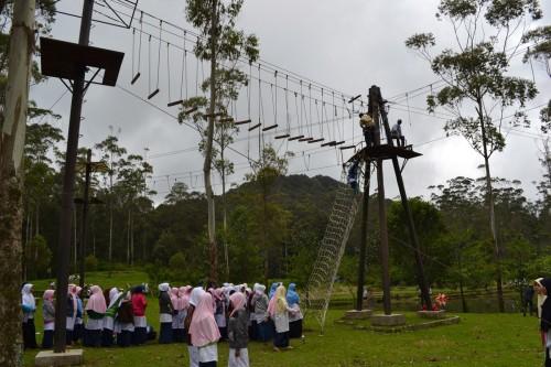 Fun Games Di Ranca Upas Ciwidey bandung