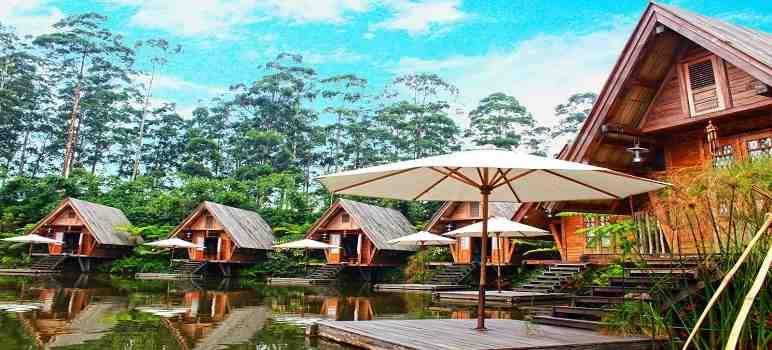 Saung Dusun Bambu Lembang Bandung