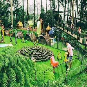 Tempat Wisata Anak di Bandung Dusun Bambu