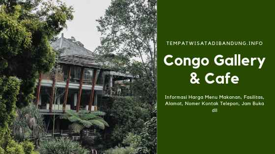 Congo Galerry & Cafe Dago Bandung