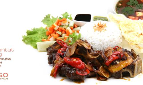 Menu Congo Cafe Bandung