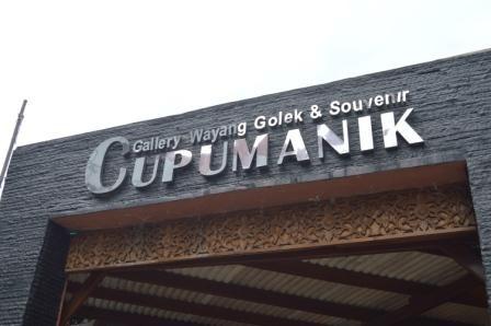Galleri Wayang Golek Cupumanik Bandung