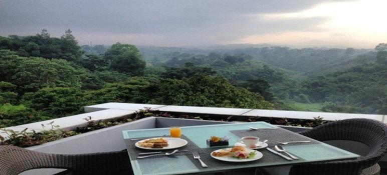 Tempat Makan Romantis Di Bandung the restaurant Padma Hotel
