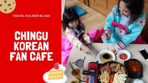 Chingu Korean Fan Cafe Bandung