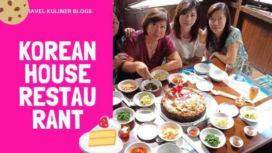 Korean House Restaurant Bandung