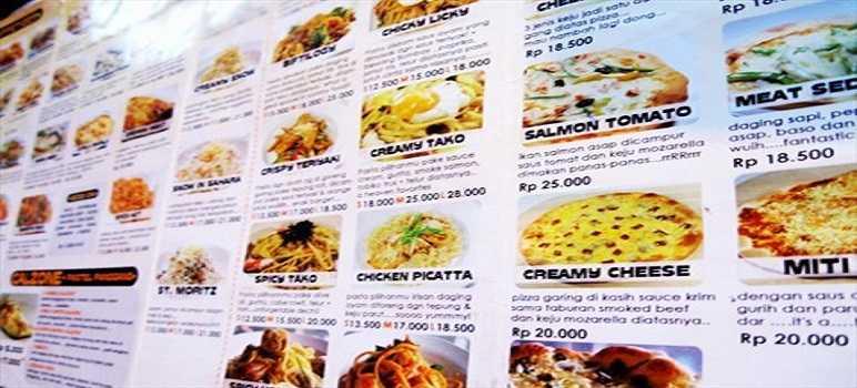 Harga Warung Pasta Bandung