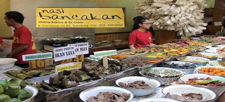 Menu Nasi Bancakan Bandung