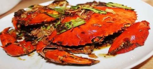 Menu Parit 9 Seafood Bandung