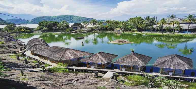 Kampung Batu Malakasari Ecopark Bandung
