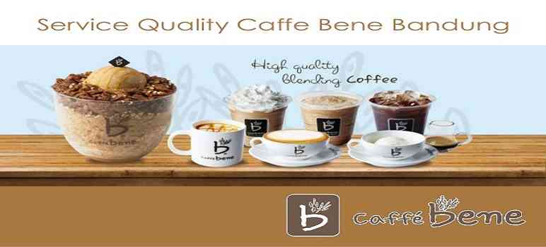 Menu Caffe Bene Bandung