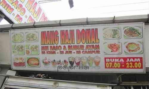 Mang Haji Donal