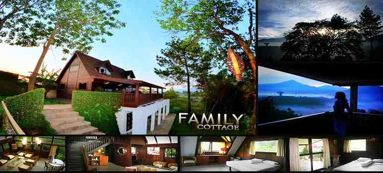 The Family Cottage Burgundy Bandung