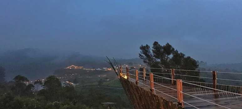 Teras Bintang Glamping Lakeside Rancabali Ciwidey Bandung
