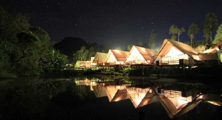 Fasilitas Penginapan Tenda Glamping Legok Kondang Lodge Ciwidey