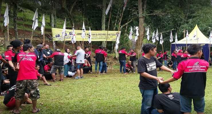 Tempat Wisata Outbound di Bandung Kampung Bamboo Padasuka Bandung