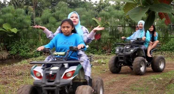 Tempat Wisata Outbound di Bandung ATV Villa Kancil