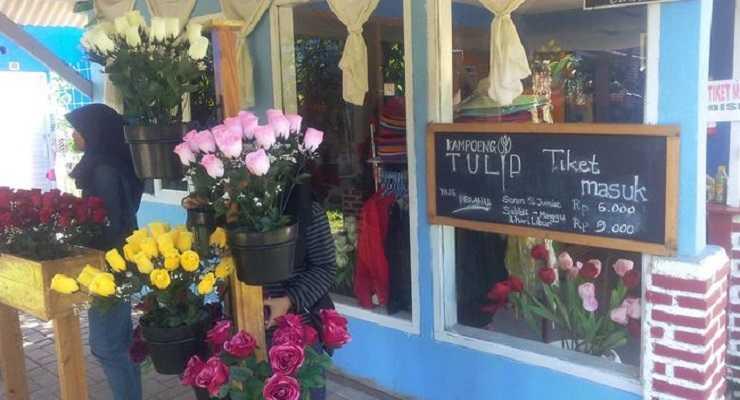 Harga Tiket Masuk Kampung Tulip Jl Pasir Pogor Ciwastra Bandung
