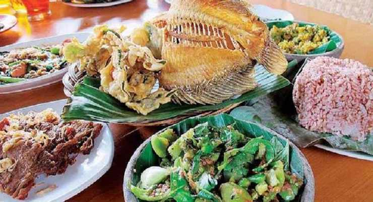 Menu Rumah Makan Khas Sunda Cibiuk Bandung