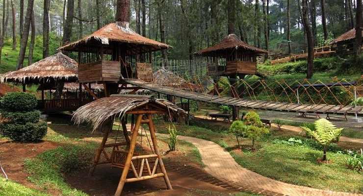 31 Tempat Wisata Outbound Di Bandung Terpopuler