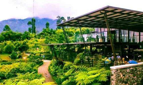 Cafe Burangrang Dusun Bambu Lembang Bandung
