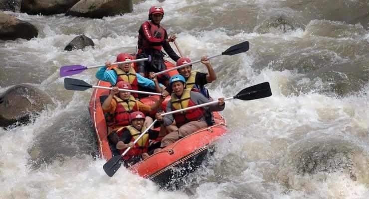 Paket Rafting di Pangalengan Bandung