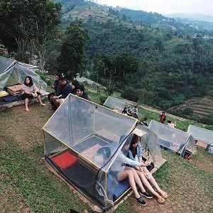 Wisata Alam Bandung Lereng Anteng Panoramic Coffee