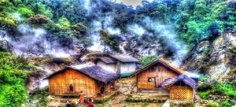 Tempat Wisata di Ciwidey Bandung Selatan Kawah Rengganis