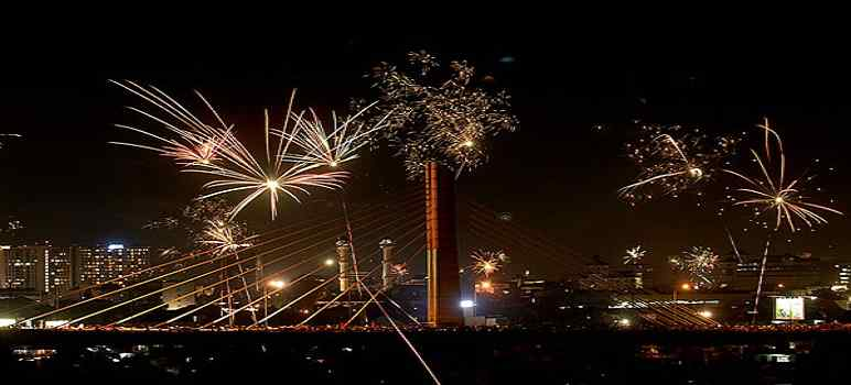 Tempat Tahun Baru di Bandung