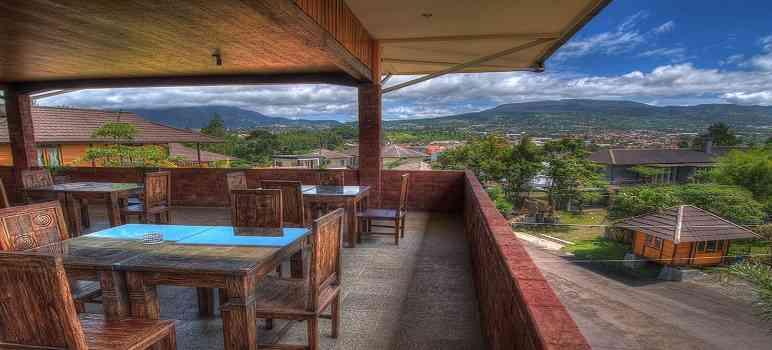 Villa Gardenia Bandung Lembang Kampung Daun