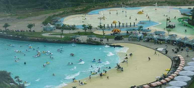 Tempat Wisata Pantai Buatan Kampung Gajah Bandung