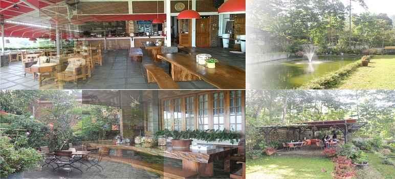 Ngopi di Kebon Bandung cafe