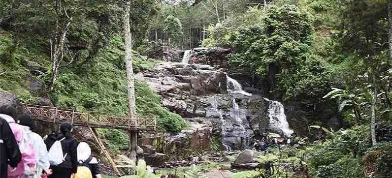 Curug Bellarosa Suntenjaya Cibodas Maribaya Lembang Bandung