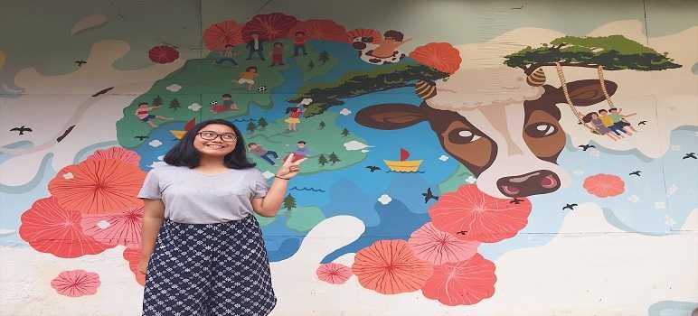 Lukisan Mural Di Desa Wisata Kampung Pasir Angling Suntenjaya Cibodas Bandung Barat