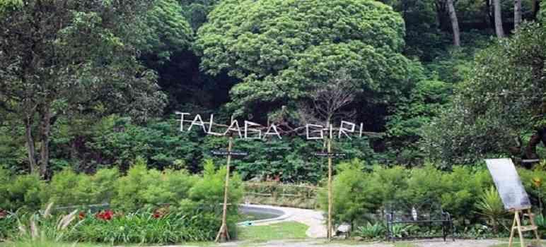 Kolam Talaga Giri Maribaya Bandung