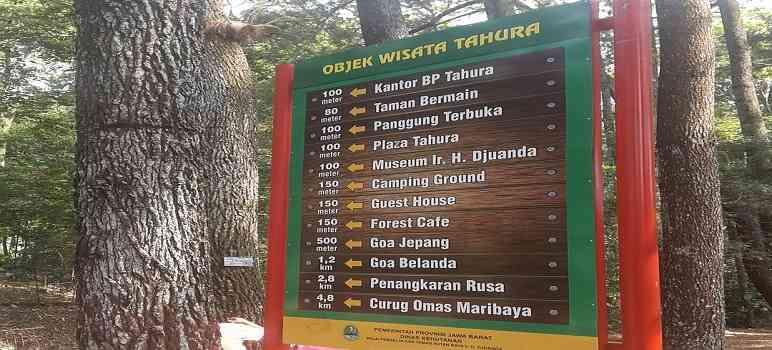 Objek Wisata di Taman Hutan Raya Juanda Bandung
