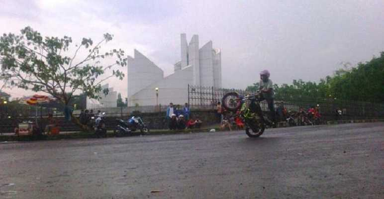 Monumen Perjuangan Rakyat Jawa Barat di Bandung Monju