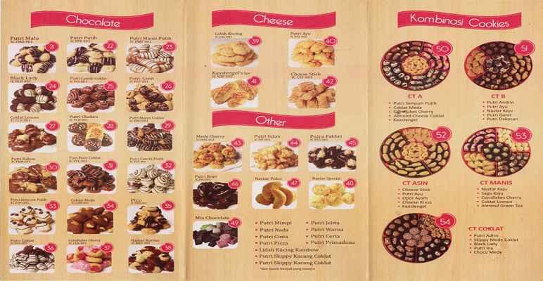 Katalog Ina Cookies Bandung