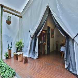 Glamping Tend Maribaya Natural Hot Spring Resort lembang Bandung