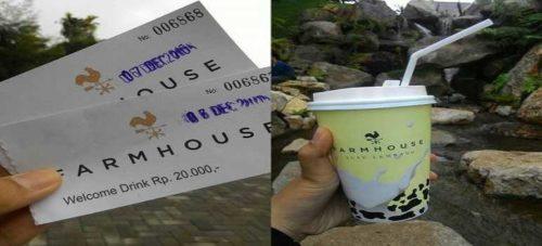 Harga Tiket Masuk Farm House Susu Lembang Bandung Terbaru dan Resmi