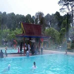Pemandian Air Panas Ciwalini di Ciwidey Kabupaten Bandung
