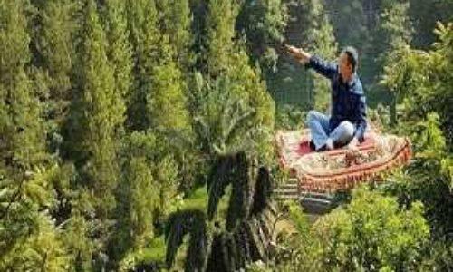 Karpet Terbang Aladin Dago Dream Park