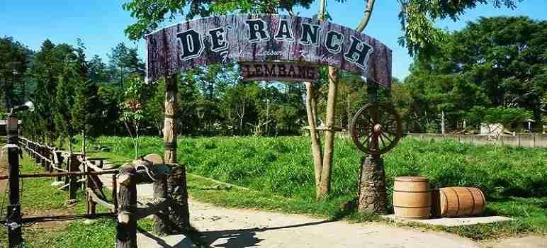 22 Harga Tiket Masuk De Ranch Lembang & Wahana 2020