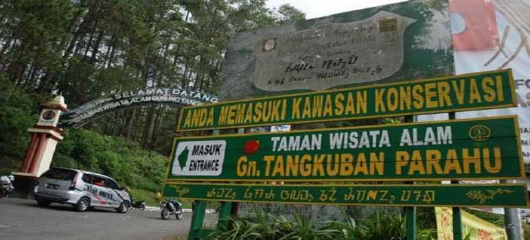 Harga Tiket Masuk Gunung Tangkuban Perahu Bandung Resmi Terbaru